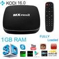 S905 MXPRO II Inteligente Android 5.1 TV Box Amlogic Quad Core 8G ROM Bluetooth 4.0 XBMC 4 K 2.4G 5G Dupla Wifi Set Top Box AH123