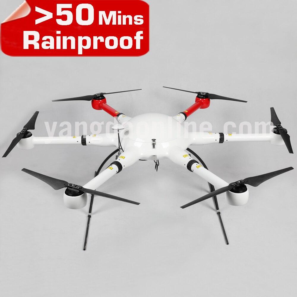 YD6 1000 s tiempo de vuelo de largo impermeable Drone marco ...