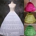 8 Kinds Color Puffy Petticoat With Six Hoops Wedding Accessories Crinoline Petticoats Enaguas novia Jupon Cerceau Mariage