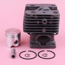 35mm Cylinder Piston Ring Pin Circlip Kit For Stihl FS120 FS 120 Trimmer Brush Cutter Engine Motor Spare Replace Part top quality cylinder pisto ring pin circlip kit for ms381 small gasoline 02 stroke chainsaw wood spliter log cutting machine