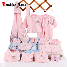 22pieces/Set Newborn baby girls Clothing 0-6months infants clothes girl boys clothing set gift without box