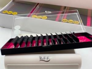 Image 3 - BFF Brand 4box Eyelashes extension 0.05/0.07/0.10 LD  Large curl  artificial Fake False Eye Lash Individual Eyelashes