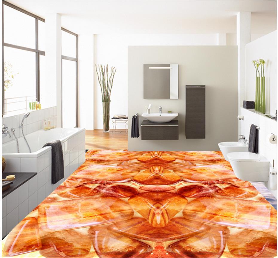 3d floor painting wallpaper jade stone stone cobblestone - Waterproof floor paint for bathrooms ...