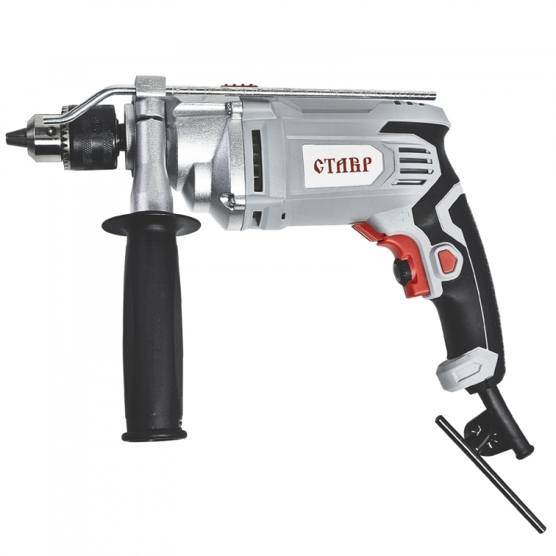Impact drill Stavr DO-13/900 (Power 900 W speed from 0 to 2800 rpm, 44800 bpm) machine drill sturm bd7045 power 450 w cartridge from 0 to 16mm speed from 280 to 2350 rpm