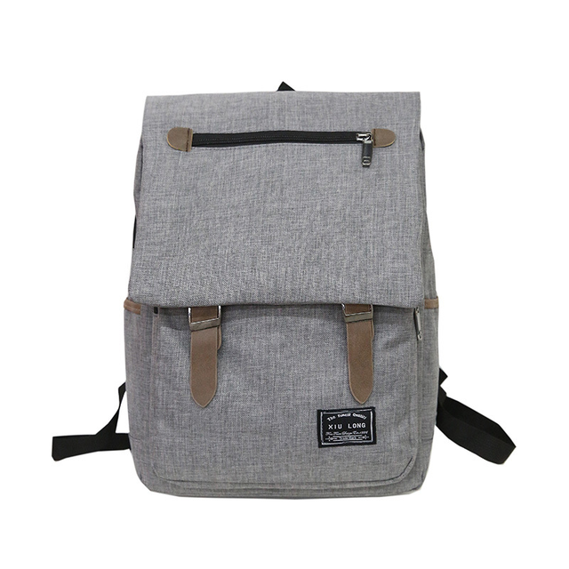 a91381100c9 Fashion Vintage Laptop Backpack Women Canvas Bags Men Oxford Travel Leisure Backpacks  Retro Casual Bag School