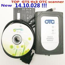 Alta qualidade gts tis3 otc scanner profissional para toyota it3 global techstream gts otc vim obd scanner ferramenta livre shippig