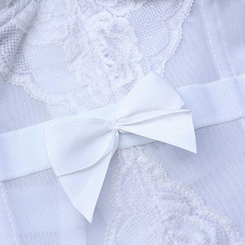 Minifaceminigirl белые кружевные корсеты и бюстье для женщин, сексуальный верх, шнуровка, топ, Femme корсетное Нижнее белье Бюстье пуш-ап, большие размеры
