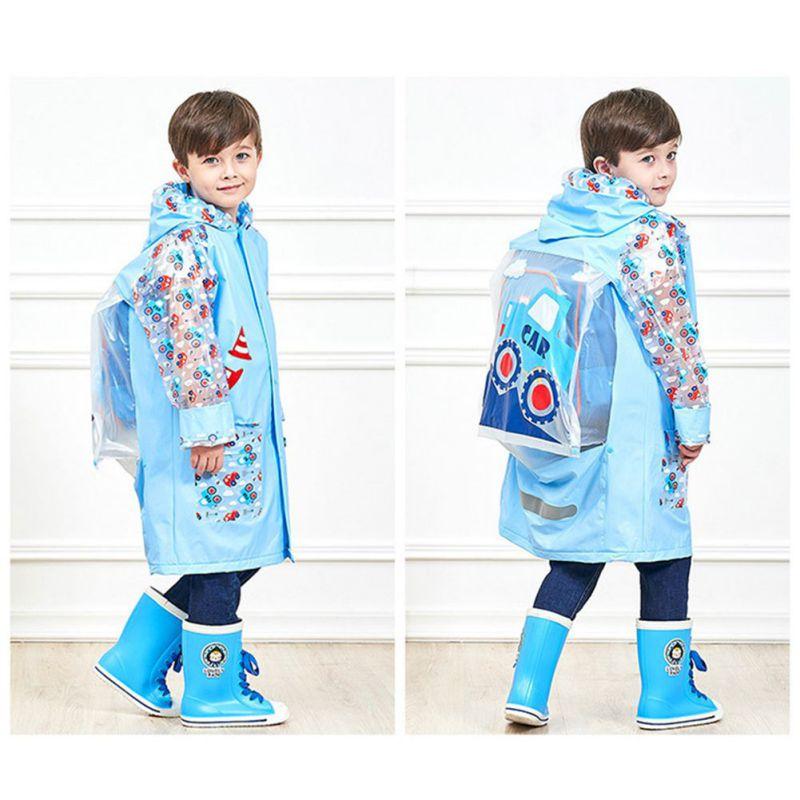 Carino Ragazze Dei Ragazzi Impermeabili Rosa Blu Di Colore Floreale Impermeabili Scuola Di Escursionismo Vestiti Di Pioggia Stivali Da Pioggia Per Bambini Cappotti Diversificato Nell'Imballaggio