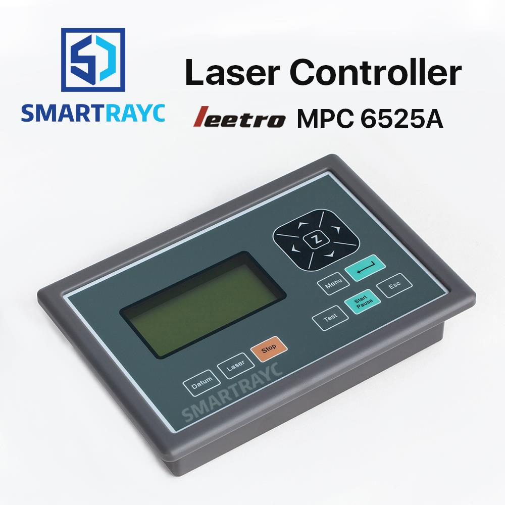 Smartrayc Leetro Operation Panel PAD04-E Co2 Laser Controller System for Laser Engraving and Cutting Machine leetro mpc6515 laser controller board for sale mpc6515c controller system