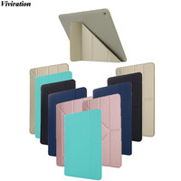 Fashion Stand Flip Cover Viviration TPU Shockproof High Quality Tablet PC 9 7 Cover Case For