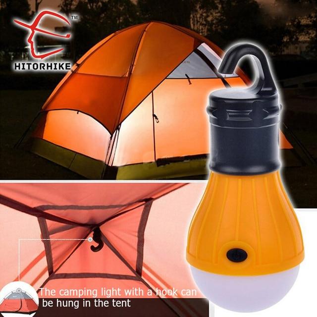 Soft Light Outdoor Hanging LED Camping Tent Light Bulb Lamparas 30-60 Lumens 3 LED Night Fishing Lantern Lamp Lights