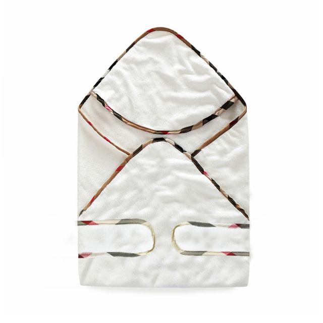 Nova chegada 73*73 cm malha Do Bebê Com Capuz Toalha De Banho de algodão Do Bebê da menina do menino Crianças Roupão de banho do bebê recém-nascido receber cobertores roupas
