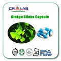 ginkgo biloba extract 24% high quality organic immune and anti-fatigue Ginkgo Biloba capsule 500mg*60pcs