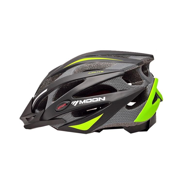 Prix pour LUNE Amélioré MV29 vélos cyclisme moto scooter casque Ultra-Léger Moulée Intégralement 21 évents vélo VTT Route de planche à roulettes