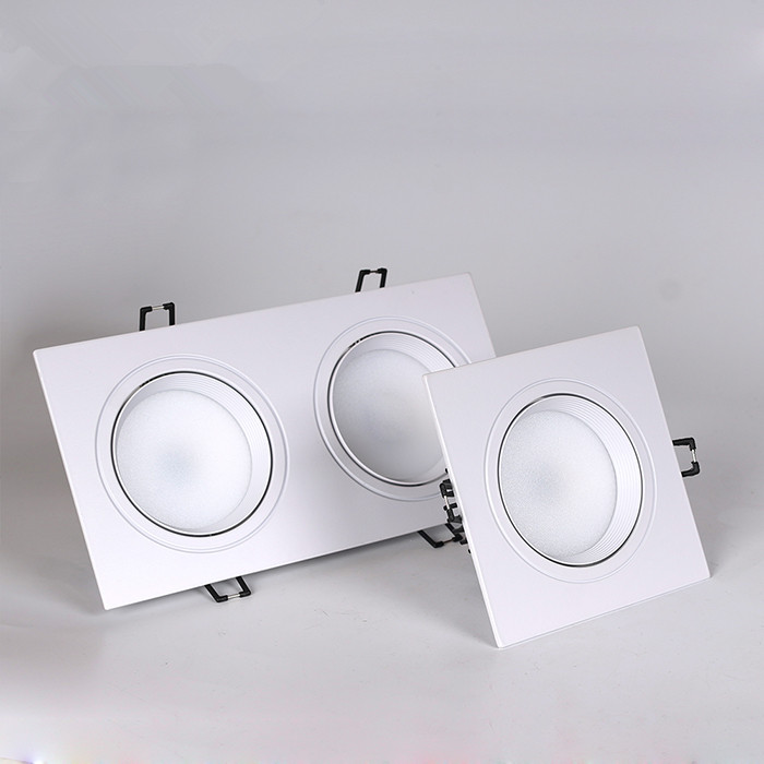 1pcs Square Dimmable Led Downlight Light Cob Ceiling Spot Light 5w 7w 10w 20w Ac85-265V Ceiling Recessed Lights Indoor Lighting