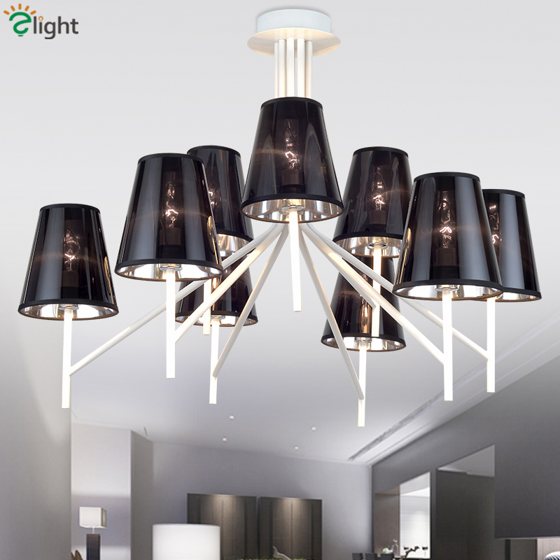 где купить Modern Minimalism Lustre Colorful PVC Shades Led Chandelier Foyer Pendant Chandelier Lighting Luminaria Indoor Lamparas Fixtures дешево