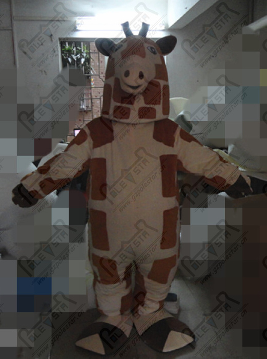 custom deer mascot costumes character giraffe costume hand make dots deer costumes