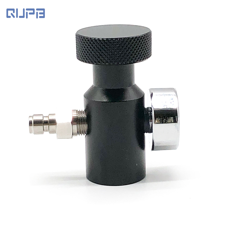 FREE SHIPPING PCP Paintball ON OFF Adapter Coil Remote Hose Universal Fill Adapters On/Off ASA Black