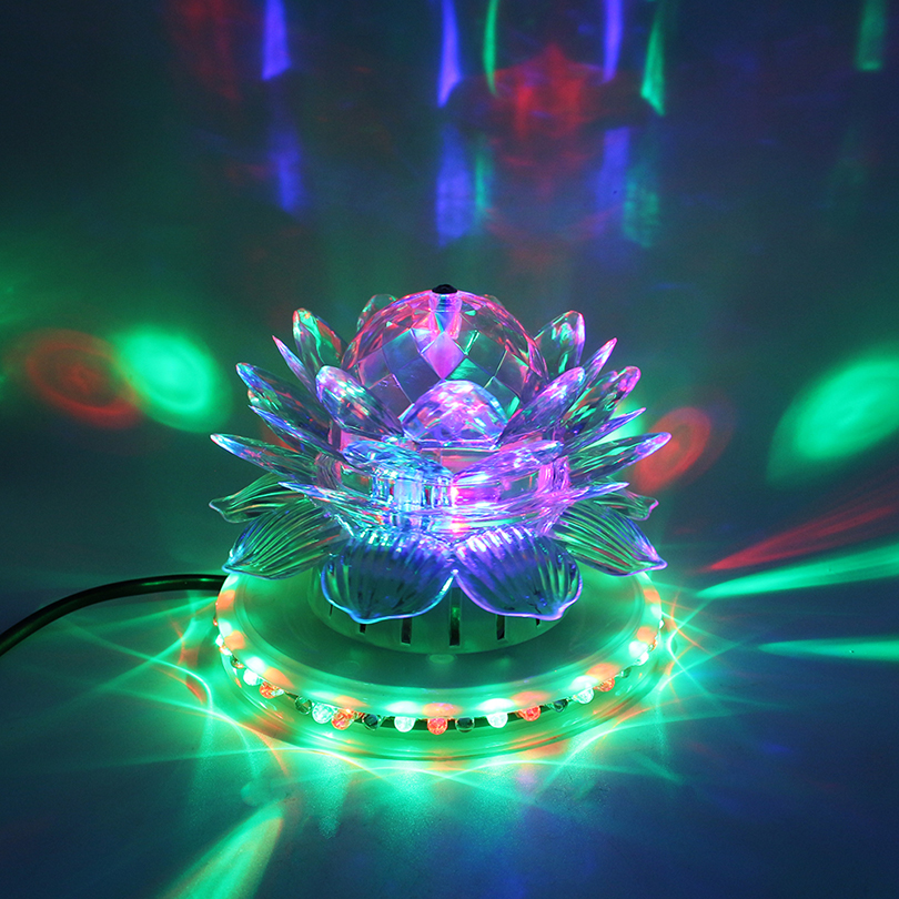 RGB Led Stage Light Auto Rotating Disco Ball Lamp Effect Magic Party Club Lights For Christmas Home KTV Xmas Wedding Show Pub сетевое хранилище synology ds1517 5x2 5 3 5