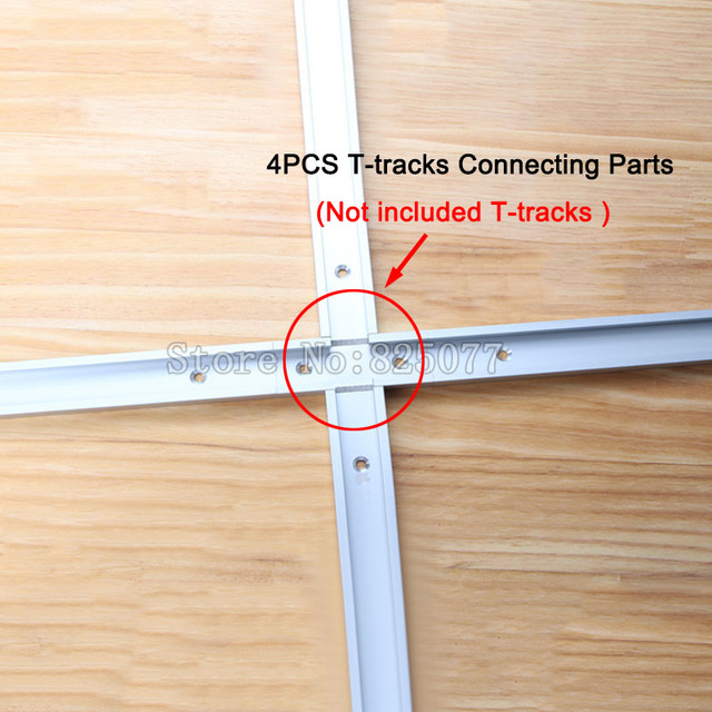 4pcs t tracks t slot miter track jig fixture slot for router table 4pcs t tracks t slot miter track jig fixture slot for router table band greentooth Image collections
