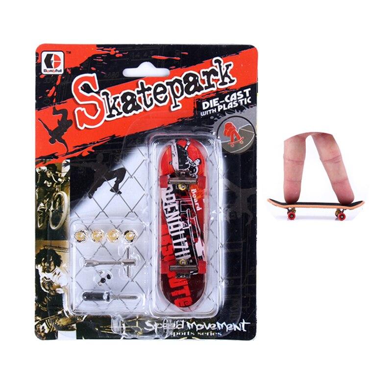 1 Set Mini Finger Skateboard Mit Werkzeug Graffiti Finger Skatepark Frosted Matte Neuheit Gag Spielzeug Desktop Spiele Kinder Spielzeug
