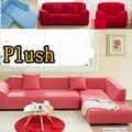 Tela Cubierta de la Funda de Sofá Elástica Tramo Esquina Roja 1 2 3 4 Plazas Sofá de Dos Plazas Sofá cubierta Cubierta De Muebles en forma de l sofá de la esquina
