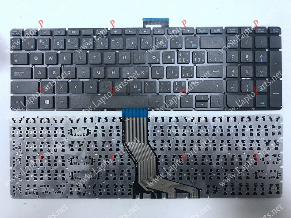 CA Canada Laptop <font><b>keyboard</b></font> for <font><b>HP</b></font> 15-BS <font><b>250</b></font> <font><b>G6</b></font> 255 <font><b>G6</b></font> 256 <font><b>G6</b></font>(only <font><b>keyboard</b></font>) NSK-CW3SQ CA Layout image