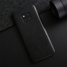 For Huawei Mate 20 Pro Case Luxury Genuine Leather for Vintage Cowhide Cover Mate20