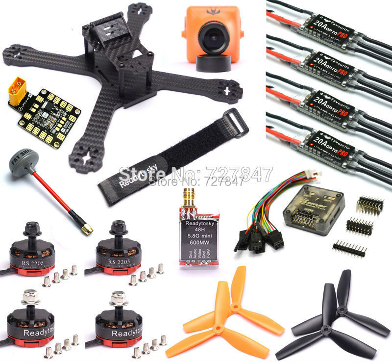 Newest DIY Mini Drone QAV-X 214mm 4mm Arm Carbon Fiber RS2205 2300kv LittleBee 20A Pro BLHeli 2-4S F3 Flight Control TS5828L qav r 220mm carbon fiber racing drone quadcopte qav r 220 f3 flight controller rs2205 2300kv motor littlebee 20a pro esc blheli