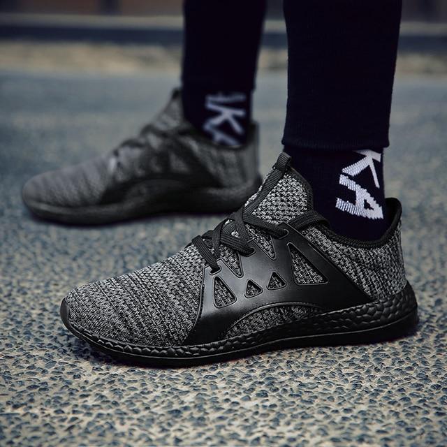 Breathable Tide Lace Up Men's Shoes