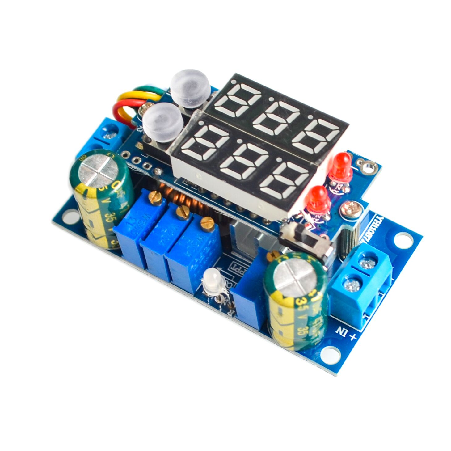 5a Mppt Solar Panel Controller Dc Step Down Cc Cv Charging Module Battery Charger Circuit Simulator Homemade Display Led