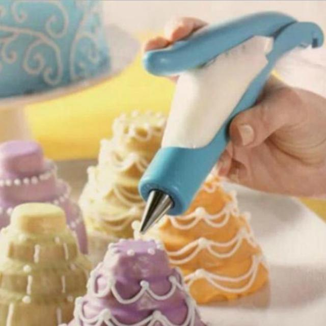 1Set Cake Decorating Pen Pastry DIY Cake Deco Tool Kit Pastry Icing