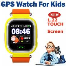 2016 Anti Verloren GPS Tracker Uhr für Kid SOS Notfall GSM Smart Handy App für IOS Android Smartwatch Armband Alarm # B9