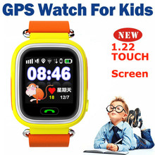 2016 Anti Lost GPS Tracker Watch for Kid SOS Emergency GSM Smart Mobile Phone App for IOS Android Smartwatch Wristband Alarm #B9