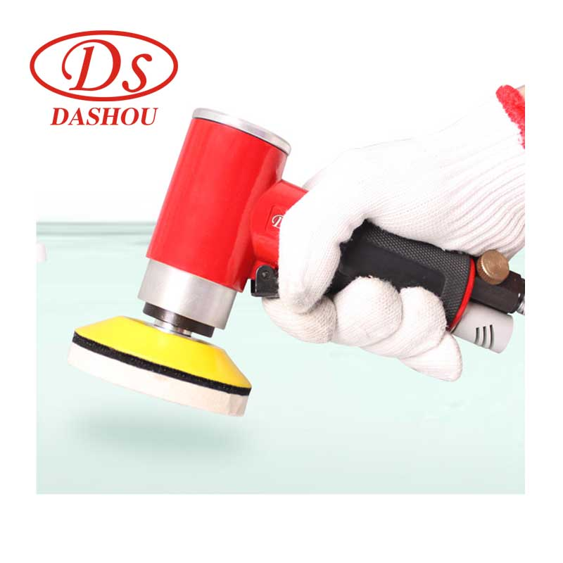 DS 90 Degree Eccentric Sandpaper Air Polisher Pneumatic Grinding Machine  15000rpm DS942 Polishing Tool For Car Home Use