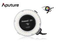 Aputure Amaran Halo LED Macro Ring Flash Light AHL-HN100 cho Nikon D800E D800 D7000 D7100 D5200 D3200 D700 D600 D90 DSLR Máy Ảnh