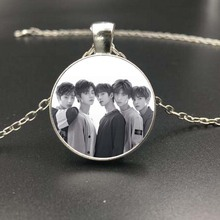 TXT Tomorrow × Together Vintage Style Necklace