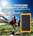 8000 mah dual usb externo portátil cargador de batería de la energía solar banco de la energía banco de la energía powerbank para iphone 6 s plus cargador