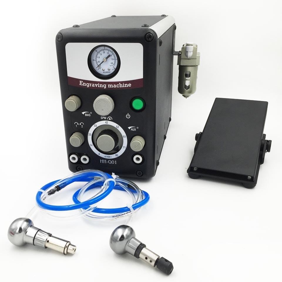 Novo Tipo 0-8000 golpes/min de Gravação Pneumático Ferramentas Jóias máquina de Gravura máquina Mais Grave
