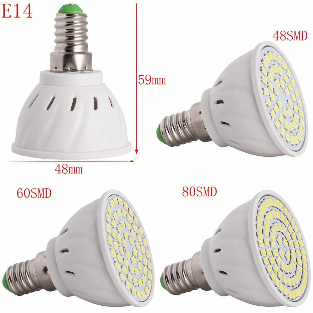 60 E14 Lumen New Led Light Lamps E27 E14 Gu10 Mr16 Led Lamp Spotlight 6 9 12w 220v High Lumen 2835 Smd 48 60 80 Leds Bulbs Light Warm Cool