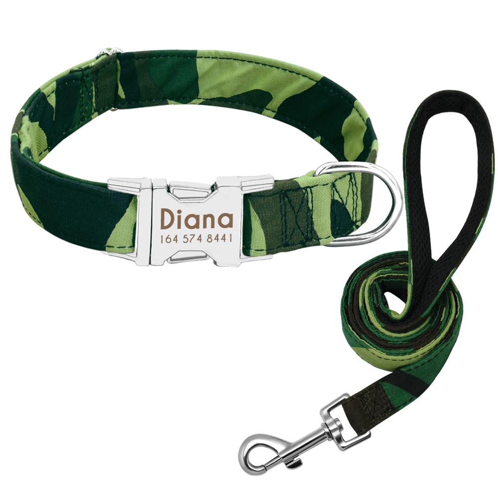 Collar de Nylon personalizado para perros 9