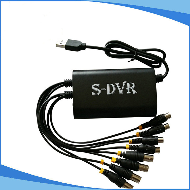 все цены на  USB 2.0 4CH Video Audio Capture Adapter 4 channel CCTV DVR Card For PC Laptop  онлайн