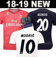 85f2b3b51d0 NEW 2018 2019 REAL MADRID jersey 18 19 AWAY football camisetas RONALDO BALE  BENZEMA Thai AAA