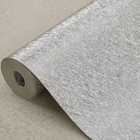 Moderne luxe or argent papier peint feuille d'or papier peint rouleau salon chambre fond papier peint pvc étanche réfléchissant - 3