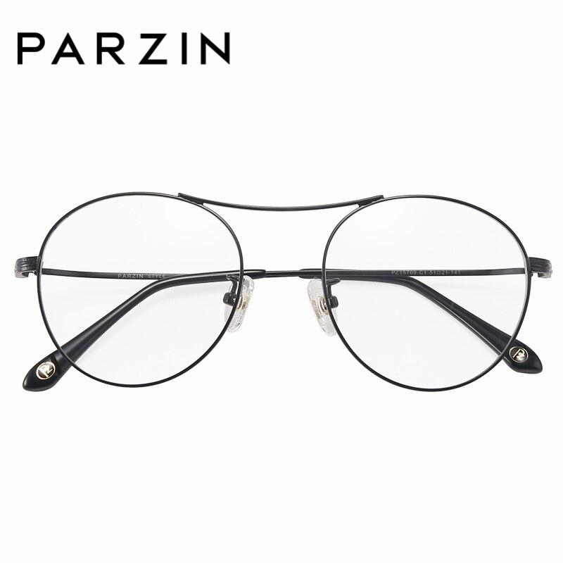PARZIN Retro marco redondo del Metal gafas de lectura 2018 nueva ...