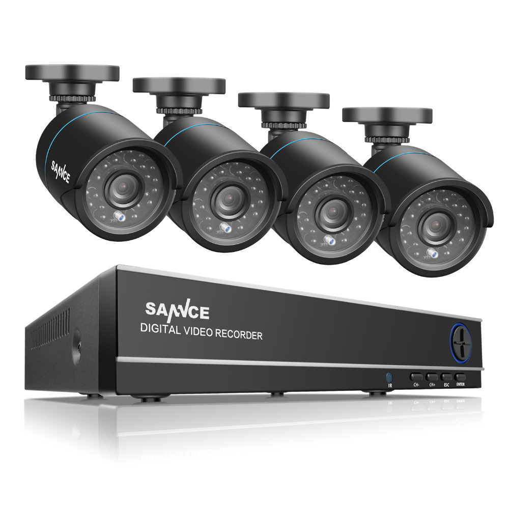 SANNCE 8CH CCTV System 4 in 1...