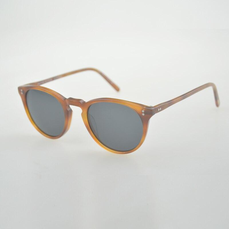 O'malley Unisexe Classique Marque Hommes lunettes de Soleil 2018 Oliver Peuples Polarisées OV5183 Mâle Lunettes de Soleil Femmes Pour Hommes Oculos de sol