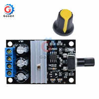 Regulador de controlador de velocidad del Motor de CC PWM, 6V-28V, 3A, Motor de Interruptor de Control de Velocidad Variable ajustable, CC para ventilador, regulador 80W 12V 24V