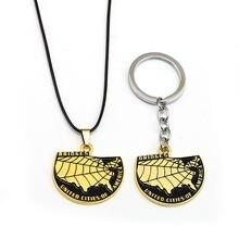 Мужской брелок чокер mengtuyi массивное ожерелье с золотыми