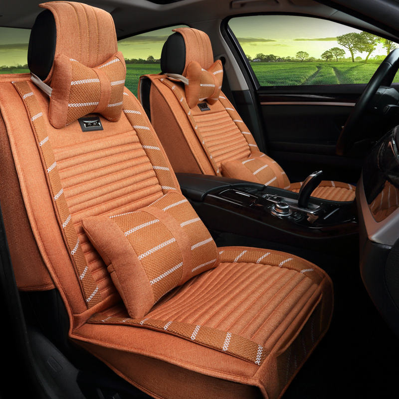 3D version of the luxury car four seasons seat cover, suitable for Mercedes-Benz BMW Audi Kia SUV and all other general-purpose